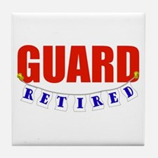 Retired Guard Tile Coaster