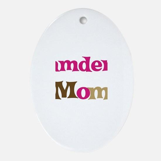 Camden's Mom  Oval Ornament