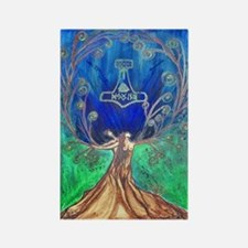 With In the Tree of Life Rectangle Magnet