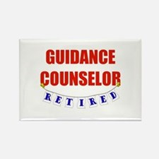 Retired Guidance Counselor Rectangle Magnet