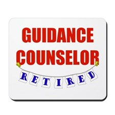 Retired Guidance Counselor Mousepad