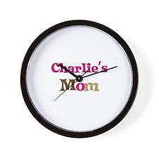Charlie's Mom  Wall Clock