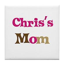 Chris's Mom  Tile Coaster