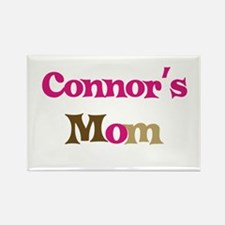Connor's Mom Rectangle Magnet