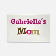 Gabrielle's Mom Rectangle Magnet