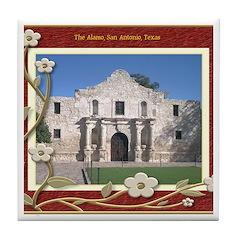 The Alamo #1 Tile Coaster