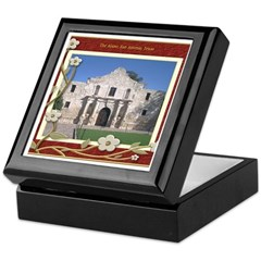 The Alamo #1 Keepsake Box