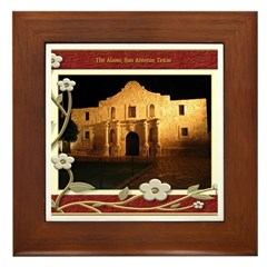 The Alamo #3 Framed Tile