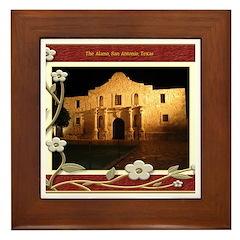 The Alamo #3 Framed Tile