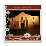 The Alamo #3 Tile Coaster