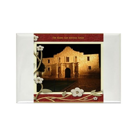 The Alamo #3 Rectangle Magnet