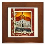 The Alamo #5 Framed Tile
