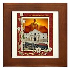 The Alamo #5 Framed Tile