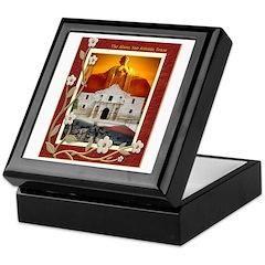 The Alamo #5 Keepsake Box