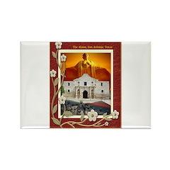 The Alamo #5 Rectangle Magnet