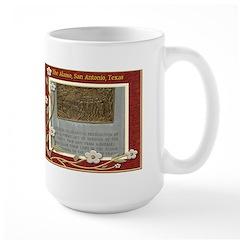 The Alamo #7 Large Mug