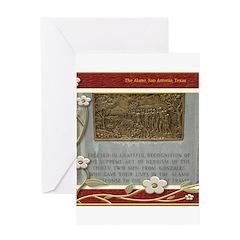 The Alamo #7 Greeting Card
