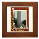 The Alamo #8 Framed Tile