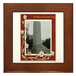 The Alamo #8 Framed Tile