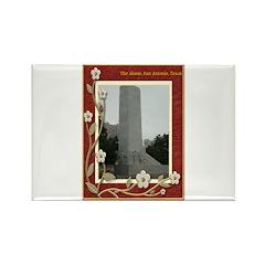 The Alamo #8 Rectangle Magnet