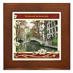 The Riverwalk #1 Framed Tile