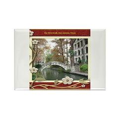 The Riverwalk #1 Rectangle Magnet