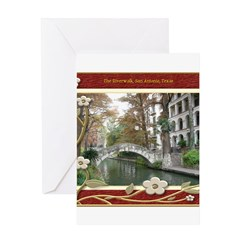 The Riverwalk #1 Greeting Card