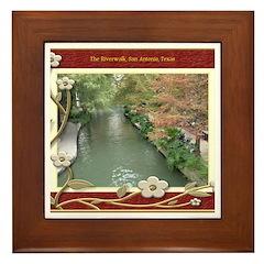 The Riverwalk #2 Framed Tile