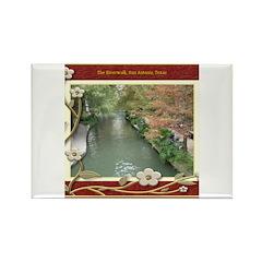 The Riverwalk #2 Rectangle Magnet