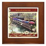 The Riverwalk #3 Framed Tile