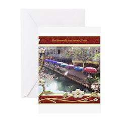 The Riverwalk #3 Greeting Card