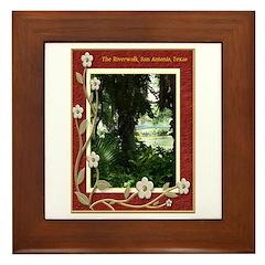 The Riverwalk #4 Framed Tile