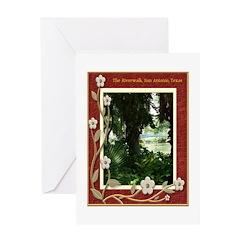 The Riverwalk #4 Greeting Card