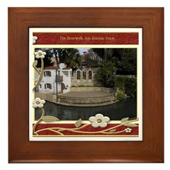 The Riverwalk #6 Framed Tile