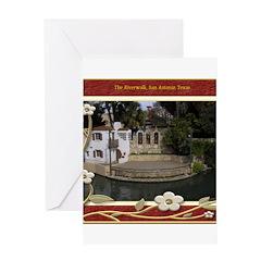 The Riverwalk #6 Greeting Card