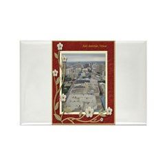 San Antonio Skyline #1 Rectangle Magnet