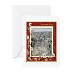 San Antonio Skyline #1 Greeting Card