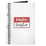 Sculptor Nametag Journal
