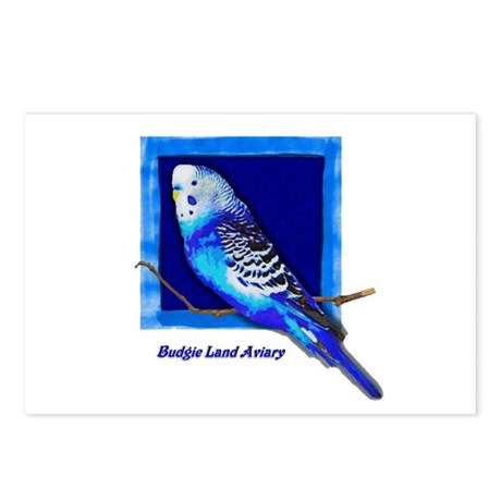 Budgie Land Postcards (Package of 8)
