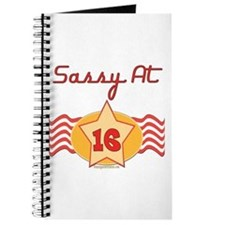 Sassy At 16 Journal