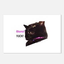 Cute Cats for obama Postcards (Package of 8)