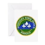 Kentucky Park Ranger Greeting Cards (Pk of 20)