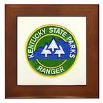 Kentucky Park Ranger Framed Tile