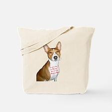 I am Basenji Tote Bag