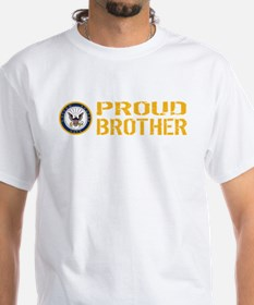 U.S. Navy: Proud Brother T-Shirt