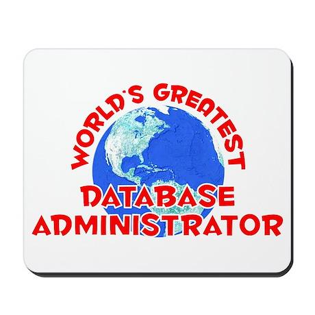 World's Greatest Datab.. (F) Mousepad