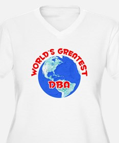 World's Greatest DBA (F) T-Shirt