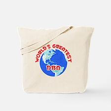 World's Greatest DBA (F) Tote Bag
