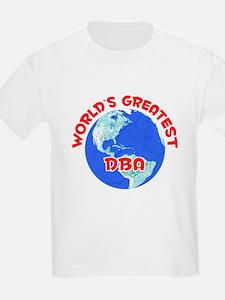 World's Greatest DBA (F) T-Shirt