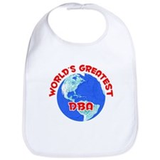 World's Greatest DBA (F) Bib